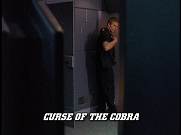 "Episode Title Card for ""Curse of the Cobra""."