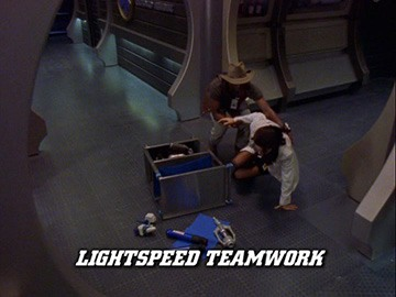 "Title Card for ""Lightspeed Teamwork""."