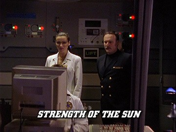 "Episode Title Card for ""Strength of the Sun""."