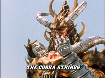 "Episode Title Card for ""The Cobra Strikes"""