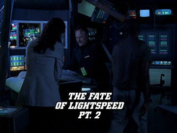 "Title Card for ""The Fate of Lightspeed Pt. 2""."