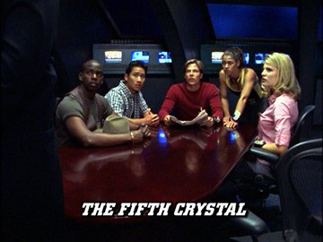 "Title Card for ""The Fifth Crystal""."