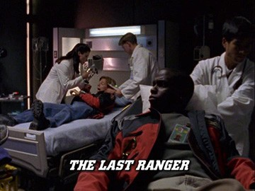 "Title Card for ""The Last Ranger""."