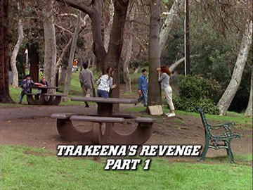 "Title Card for ""Trakeena's Revenge Part 1""."