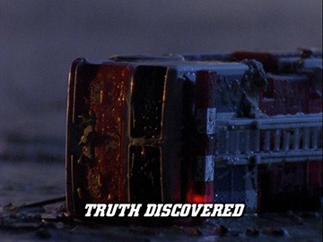 "Title Card for ""Truth Discovered""."