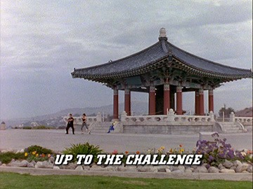 "Episode Title Card for ""Up to the Challenge"""