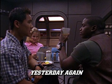 "Episode Title Card for ""Yesterday Again"""