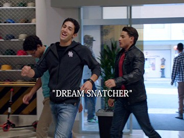 "Episode Title Card for ""Dream Snatcher"""