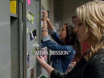 "Episode Title Card for ""Mega Mission"""
