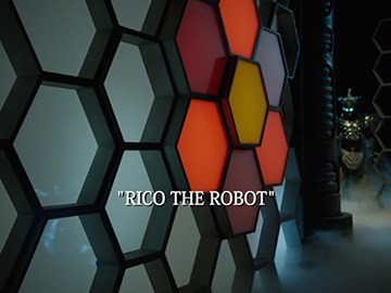 "Title Card for ""Rico the Robot""."