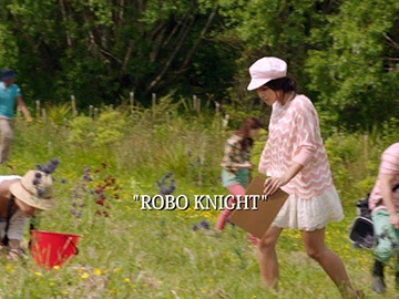 "Episode Title Card for ""Robo Knight""."