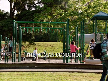"Title Card for ""The Human Condition""."