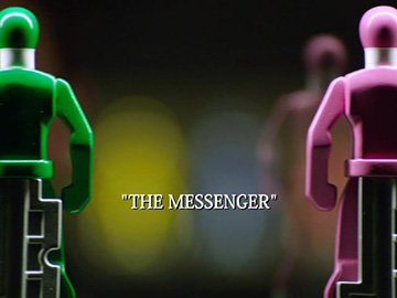 "Episode Title Card for ""The Messenger"""