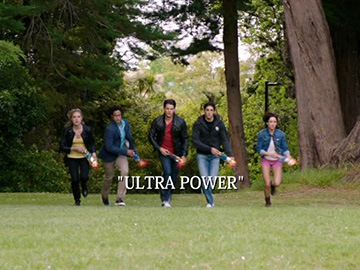 "Title Card for ""Ultra Power""."