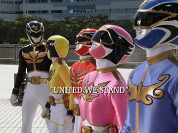 "Title Card for ""United We Stand""."