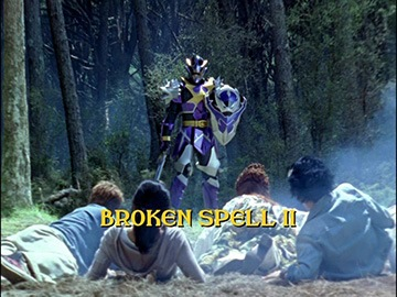 "Title Card for ""Broken Spell II""."
