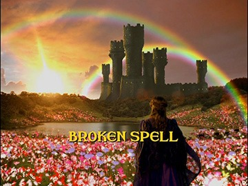 "Title Card for ""Broken Spell""."
