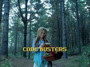 "Title Card for ""Code Busters""."