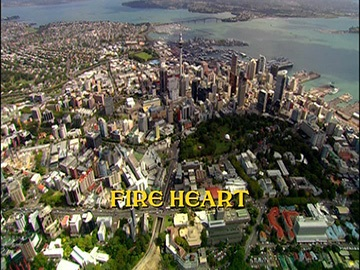 "Title Card for ""Fire Heart""."