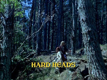 "Title Card for ""Hard Heads""."