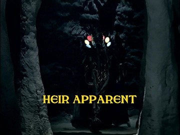 "Episode Title Card for ""Heir Apparent"""