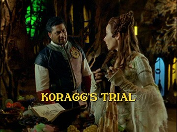 "Title Card for ""Koragg's Trial""."