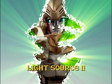 "Title Card for ""Light Source II""."