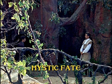 "Episode Title Card for ""Mystic Fate"""