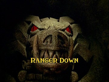 "Title Card for ""Ranger Down""."