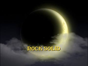 "Title Card for ""Rock Solid""."