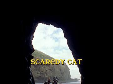 "Title Card for ""Scaredy Cat""."