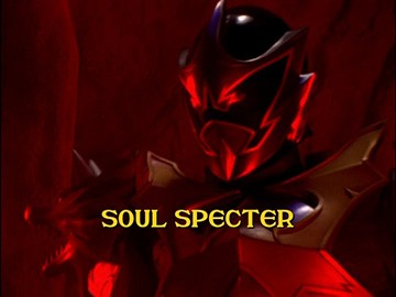 "Title Card for ""Soul Specter""."