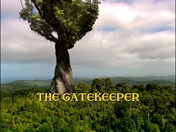 "Title Card for ""The Gatekeeper""."