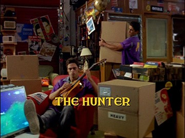 "Title Card for ""The Hunter""."