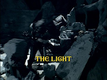 "Episode Title Card for ""The Light""."