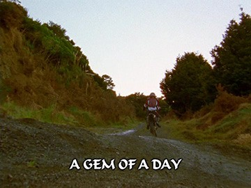 "Episode Title Card for ""A Gem of a Day"""