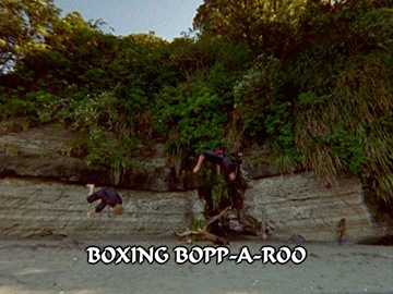 "Title Card for ""Boxing Bopp-A-Roo""."