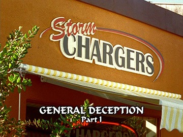 "Title Card for ""General Deception Part I""."