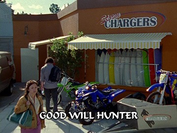 "Title Card for ""Good Will Hunter""."
