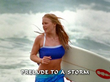 "Title Card for ""Prelude to a Storm""."