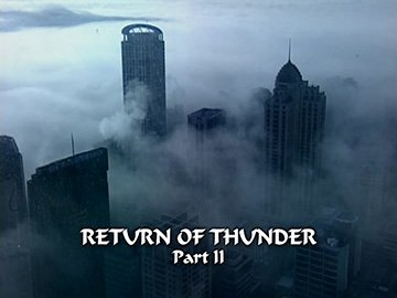 "Episode Title Card for ""Return of Thunder Part II""."