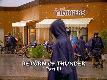 "Title Card for ""Return of Thunder Part III""."