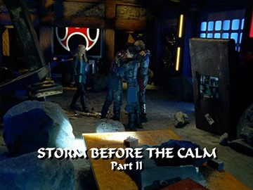 "Episode Title Card for ""Storm Before the Calm Part II"""