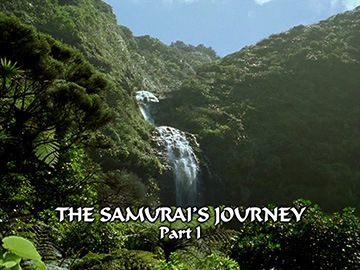 "Title Card for ""The Samurai's Journey Part I""."