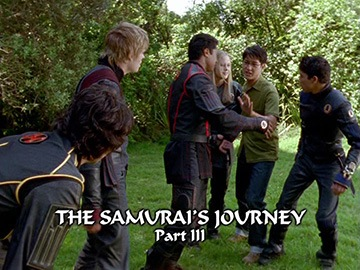 "Title Card for ""The Samurai's Journey Part III""."