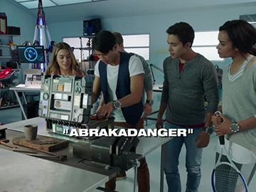 "Episode Title Card for ""Abrakadanger""."