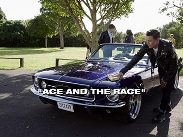 "Title Card for ""Ace and the Race""."