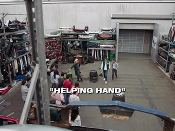 "Title Card for ""Helping Hand""."