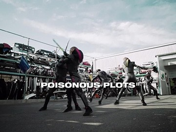 "Title Card for ""Poisonous Plots""."