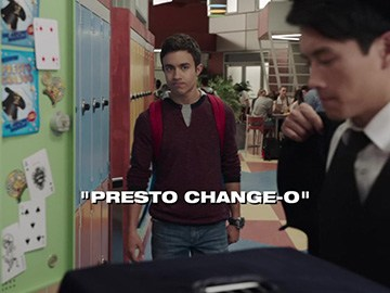 "Title Card for ""Presto Change-O""."
